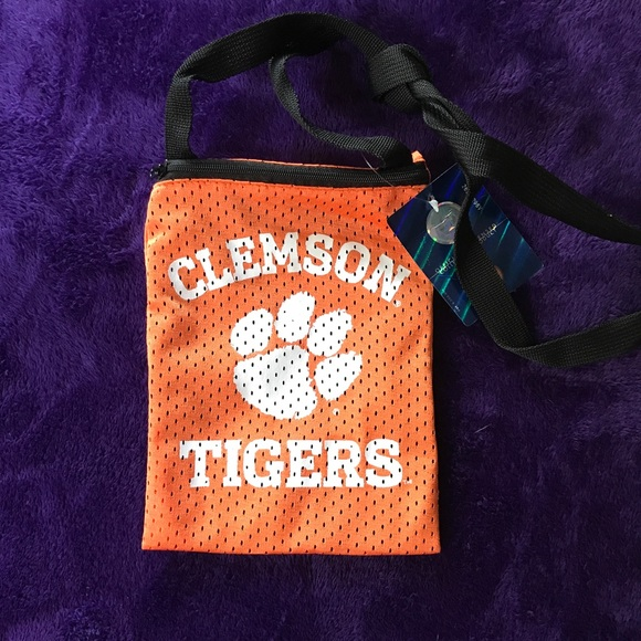 3076c91a4d8 Bags   Clemson Game Day Purse   Poshmark
